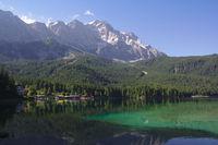 Eibsee und Zugspitze 2