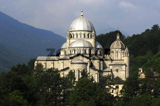 Wallfahrtskirche Madonna del Sangue Re, Italien