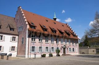 Das Rathaus in der Altstadt von Breisach