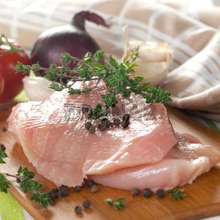 rohes Gefluegelfleisch / raw poultry