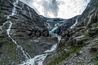 Kjenndalsbreen Gletscher in Norwegen