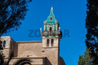 View of the Monastery of Valldemossa