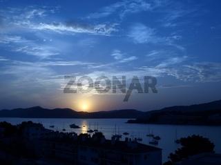 Sonnenuntergang in Santa Ponsa / Mallorca