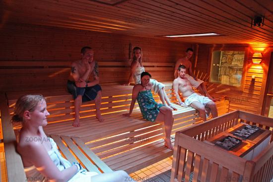 Sauna gemischt