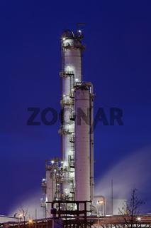 Methanolanlage einer Erdölraffinerie