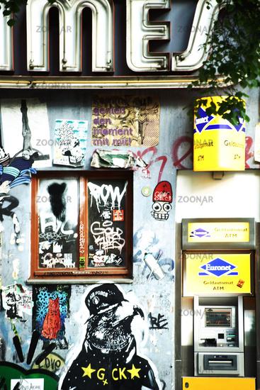 Graffiti in Berlin Friedrichshain