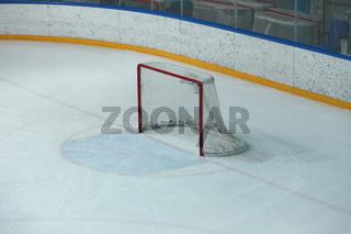 Empty hockey gate