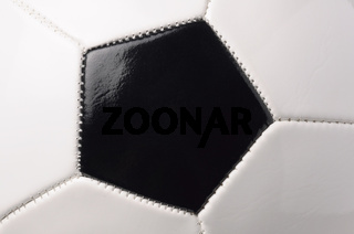 closeup of a football ball