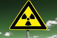 Schild Radioaktivität