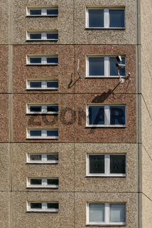 Überwachungskamera an der ehemaligen Stasi-Zentrale