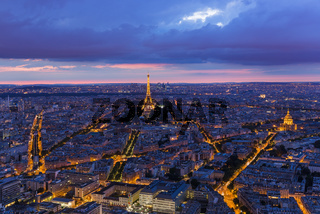 Cityscape of Paris France