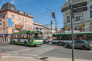 Trolleybus in Pilsen