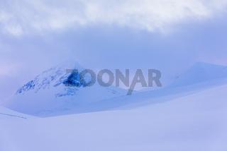 Winterlandschaft, Stuor Reaiddavaggi, Lappland