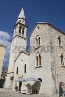 Budva, Kirche Heiligen Johannes des Täufers, Montenegro