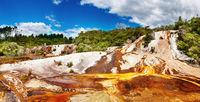 Hot spring, New Zealand