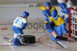 attack ice hockey