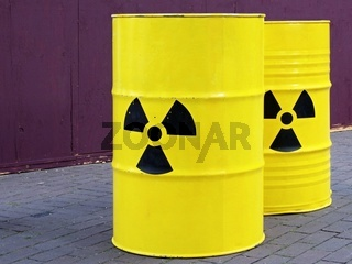 Atommüllfässer - Nuclear waste barrels
