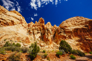 Grand Wash trail, Capital Reef National Park, Utah, USA