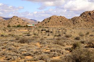 Felsige Halbwüstenlandschaft, Goegap, Südafrika