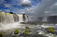Iguassu Falls, view from Brazilian side