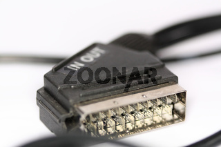 Scart Kabel Anschluss IN and OUT