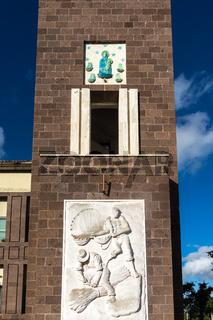 Reliefs in Fertilia, Sardinien