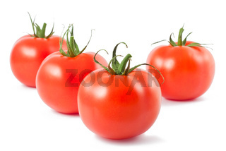 Four ripe tomatoes