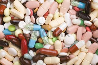 Vielfalt an Medikamenten
