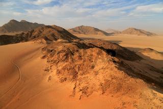 Namibia von oben Luftaufnahme des Namib Naukluft Nationalpark