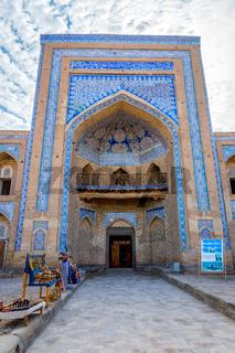 Entrance to the old madrassa, Khiva