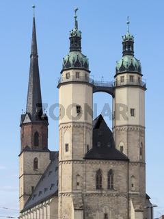 Halle - Marktkirche Unser Lieben Frauen, Deutschland