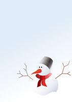 schneemann, snowman