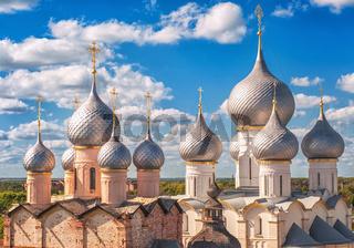 Russian orthodox church domes