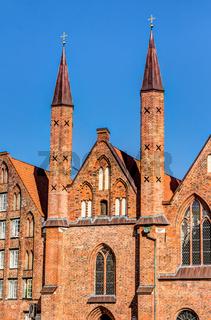 Heiligen-Geist-Hospital in der Altstadt der Hansestadt Lübeck