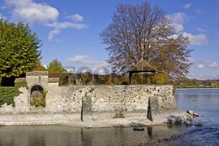 Stadtmauer Dominikaner-Insel Konstanz