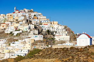 Olympos village in Karpathos, Greece