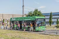 Skoda / Solaris-Hybridbus in Plzen