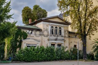 Ehemaliges Wohnhaus von Bertolt Brecht und Helene Weigel in Berlin-Weißensee