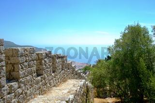 Moorish Castle of Sesimbra View