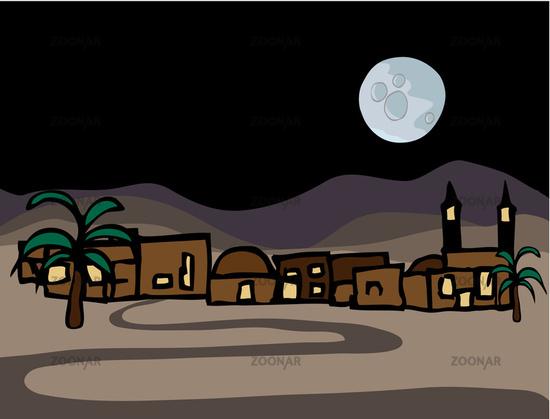 Little Near East Desert Town