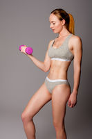 Beauty fitness workout