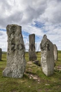 Callanish Standing Stones, 3000 Jahre alter Steinkreis, Isle of Lewis