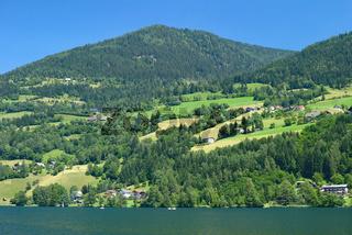 der Brennsee oder auch Feldsee in Kaernten,Oesterreich