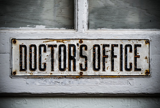 Doctors Office Sign