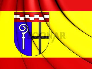 3D Flag of Monchengladbach