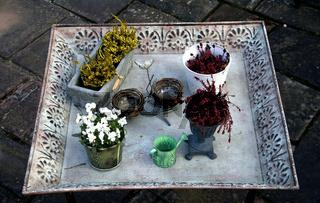 Tisch, Jardin de Stanislas, Weißenburg, Elsass
