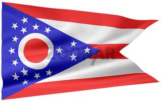 Flagge von Ohio - USA