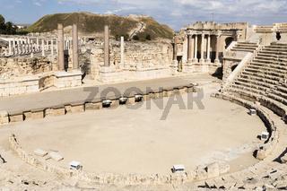 Römisches Theater, Bet She'an, Israel