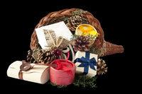 Cornucopia with gifts 1