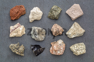 igneous rock geology collection